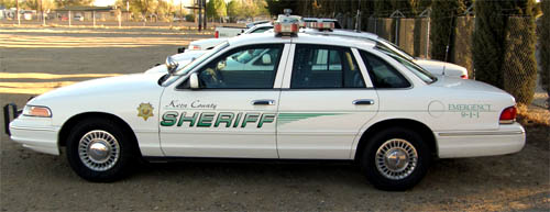 Sheriff S Patrol Car Kern County