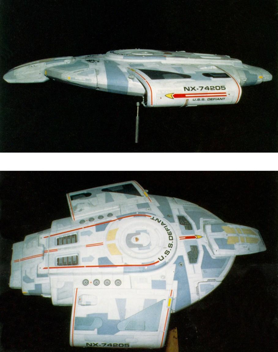 JBOT Decals - Star Trek - DEFIANT (from DS9)